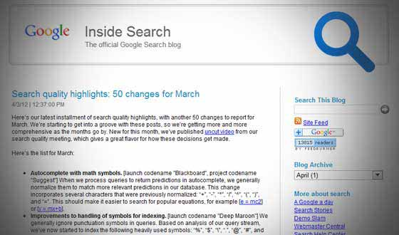 google-updates-march-2012