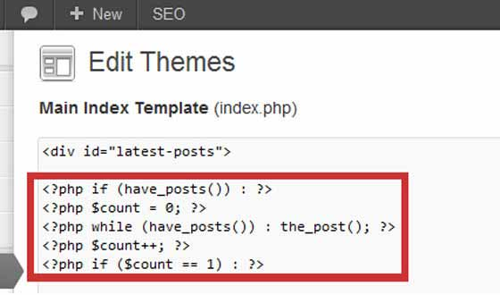 Styling Posts by Post-Count Using PHP Conditional Count Script