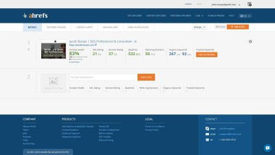 AHrefs review: An insider look at the premium features