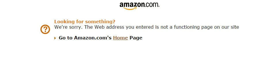 Amazon 404 Page